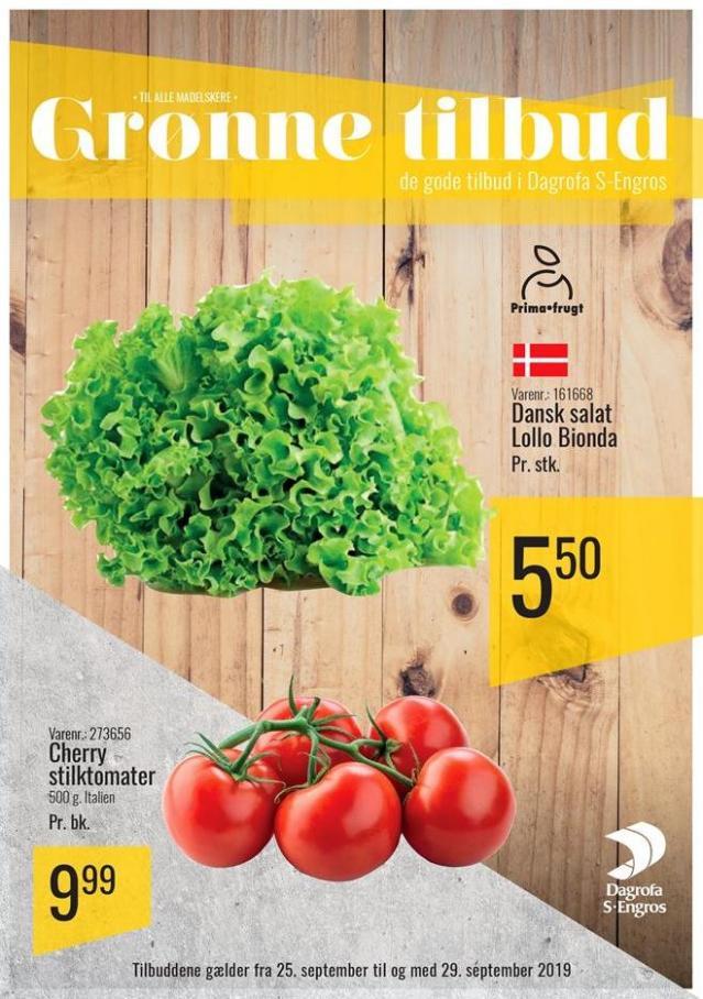 Grønne tilbud . Dagrofa S-Engros (2019-09-29-2019-09-29)
