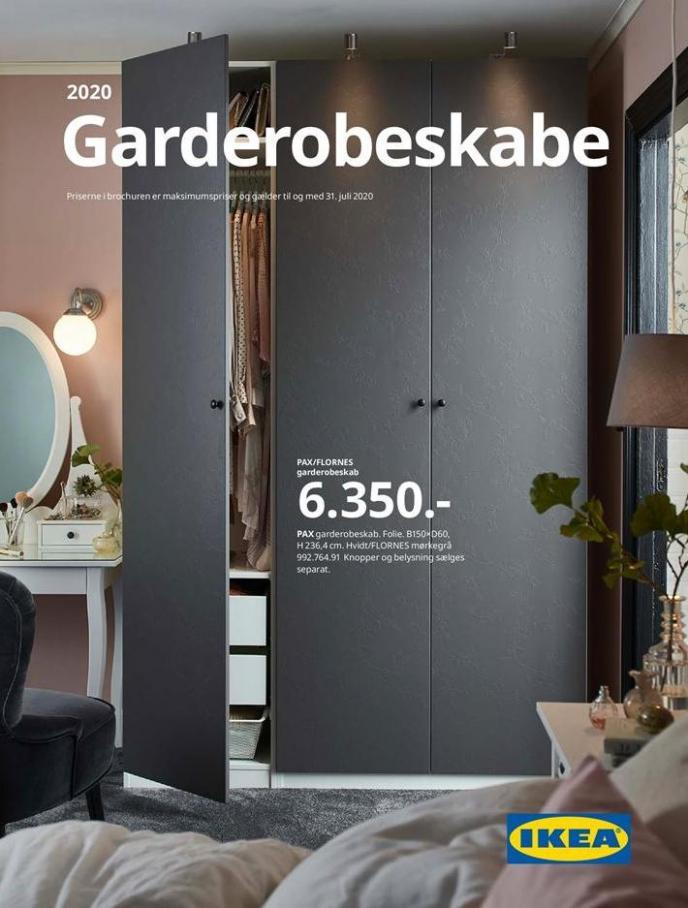 Garderobeskabe 2020 . IKEA (2020-07-31-2020-07-31)