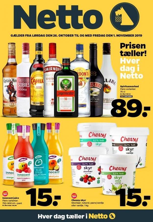 Ugens tilbud! . DøgnNetto (2019-11-01-2019-11-01)