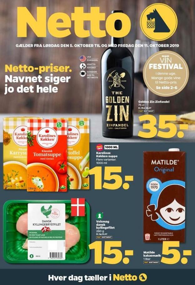 Ugens tilbud! . DøgnNetto (2019-10-11-2019-10-11)
