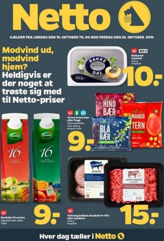 Ugens tilbud! . DøgnNetto (2019-10-25-2019-10-25)