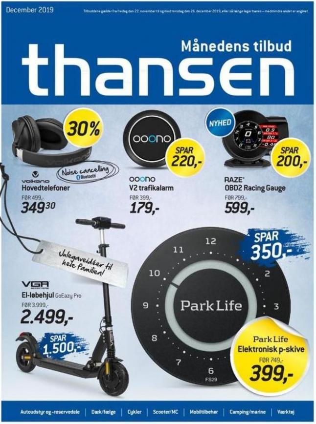 Ugens tilbud! . Thansen (2019-12-26-2019-12-26)