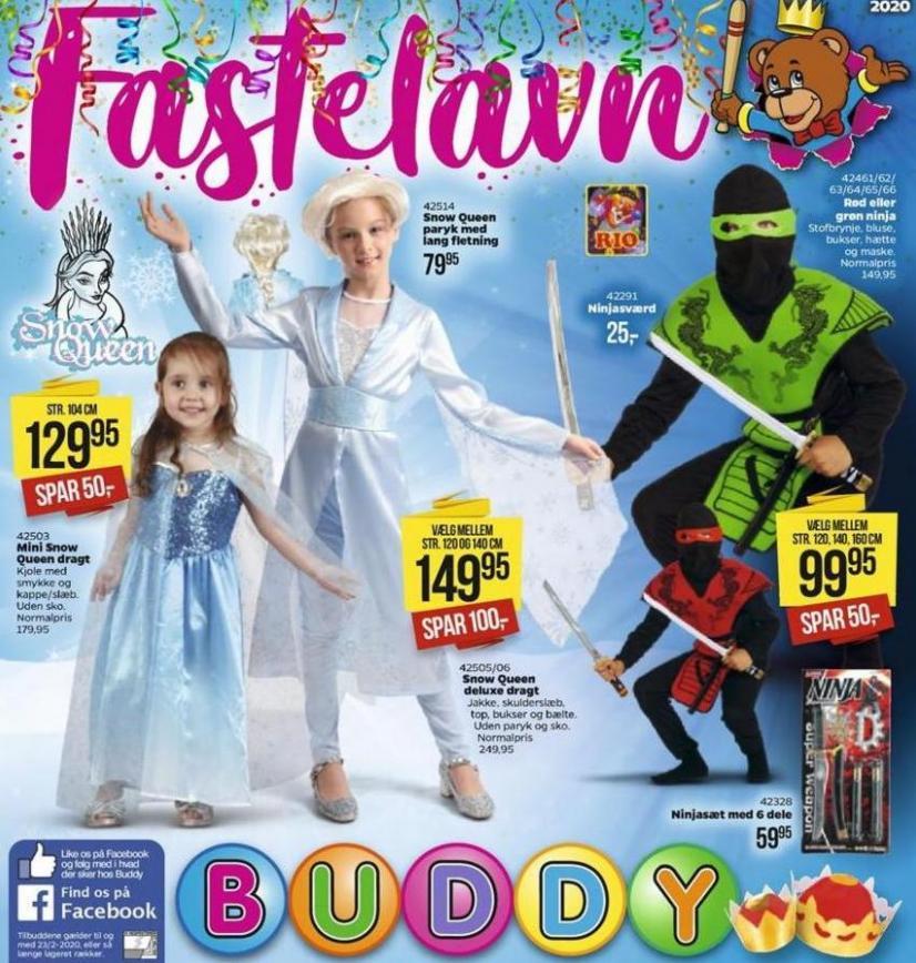 Fastelavn . Buddy Leg (2020-02-23-2020-02-23)