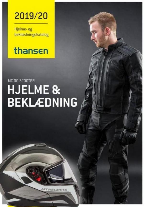 HJELME OG BEKLÆDNING . Thansen (2020-01-31-2020-01-31)