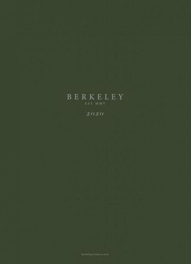 Collection 2020 . BERKELEY (2020-03-31-2020-03-31)
