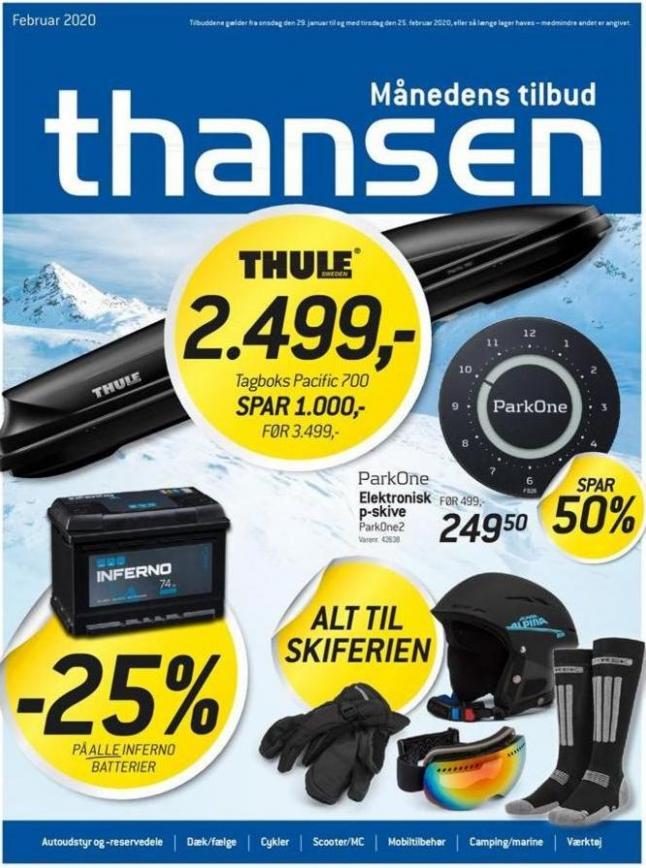 Februar 2020 . Thansen (2020-02-25-2020-02-25)