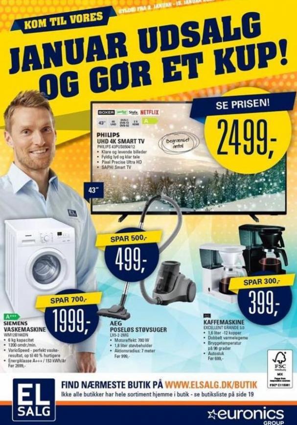 Ugens tilbud! . Euronics (2020-01-15-2020-01-15)