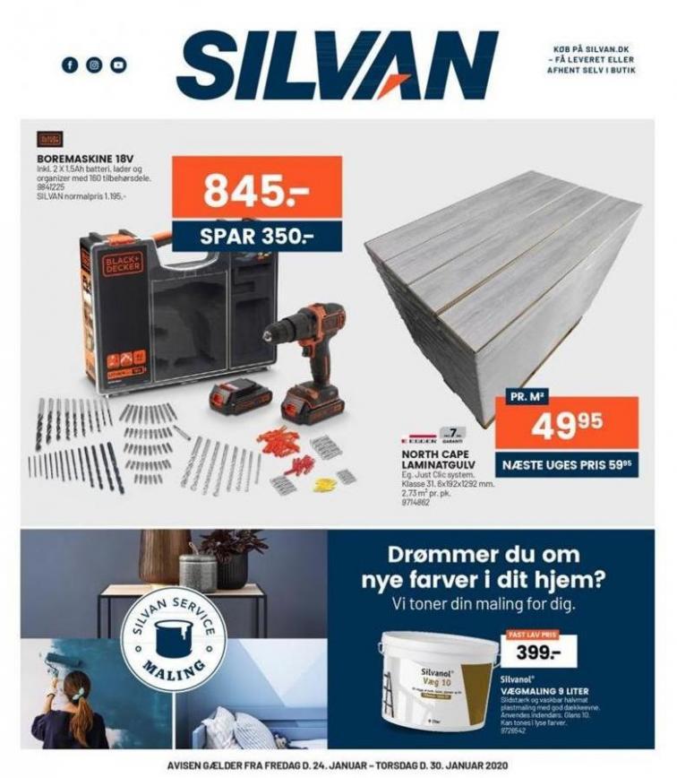 Ugens tilbud! . Silvan (2020-01-30-2020-01-30)