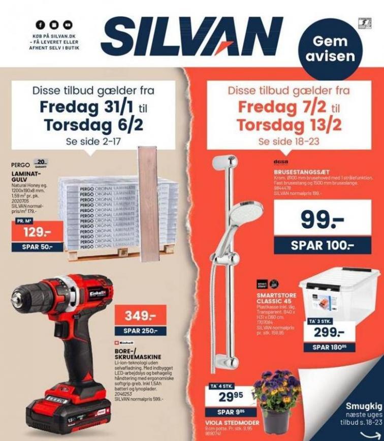 Ugens tilbud! . Silvan (2020-02-06-2020-02-06)
