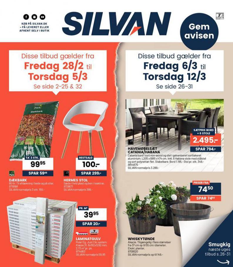 Ugens tilbud! . Silvan (2020-03-12-2020-03-12)