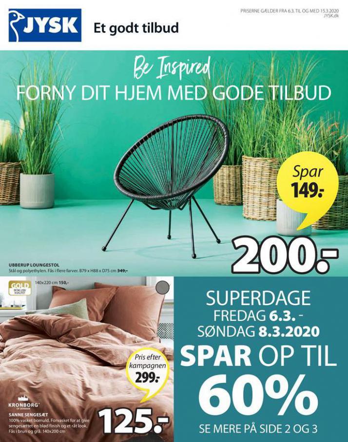 Ugens tilbud! . JYSK (2020-03-15-2020-03-15)