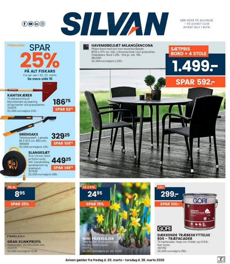 Ugens tilbud! . Silvan (2020-03-26-2020-03-26)