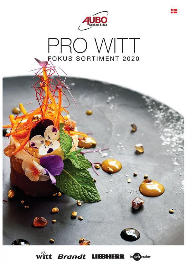Pro Witt fokus sortiment 2020 . Aubo (2020-05-31-2020-05-31)