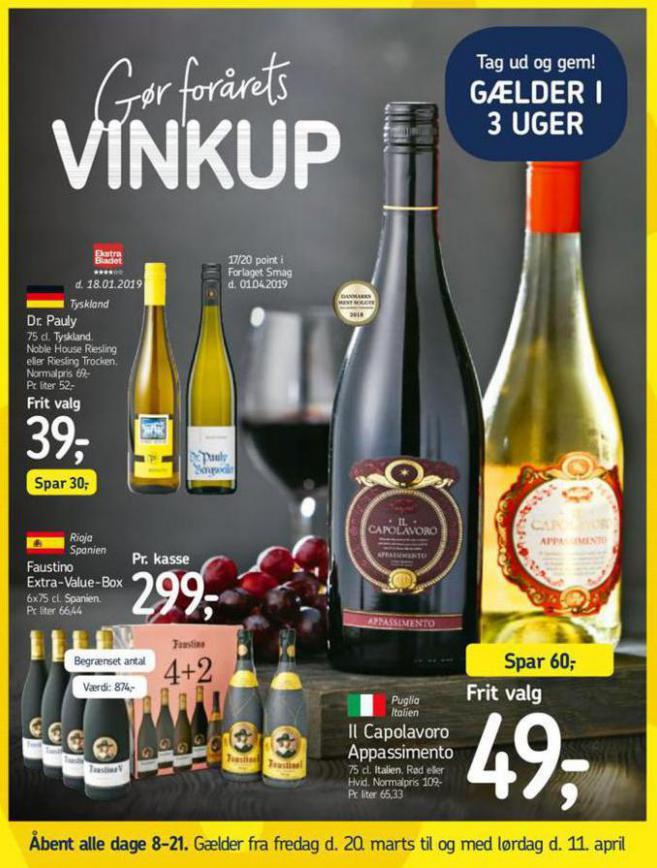 Vinkup . Føtex (2020-04-11-2020-04-11)