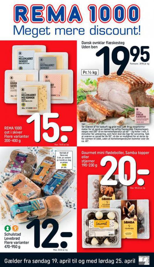 Meget mere discount! . Rema 1000 (2020-04-25-2020-04-25)