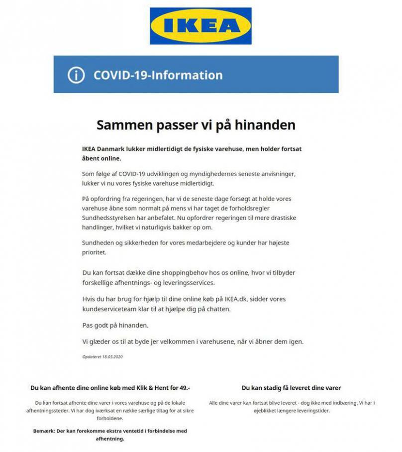 Sammen passer vi på hinanden . IKEA (2020-04-30-2020-04-30)