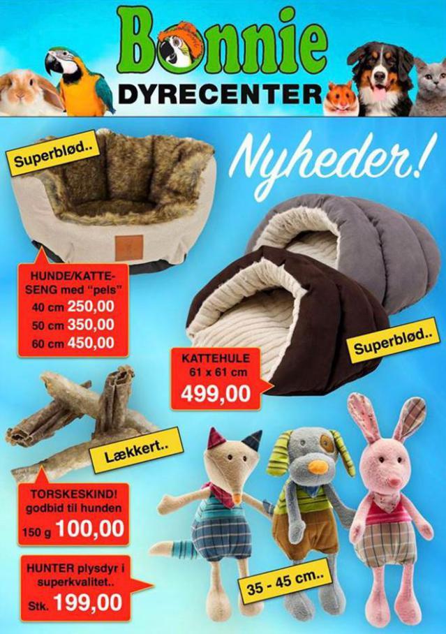 Nyheder! . Bonnie Dyrecenter (2020-06-14-2020-06-14)