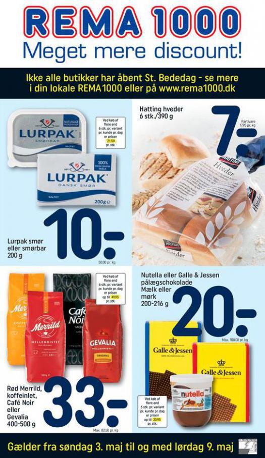Meget mere discount! . Rema 1000 (2020-05-09-2020-05-09)