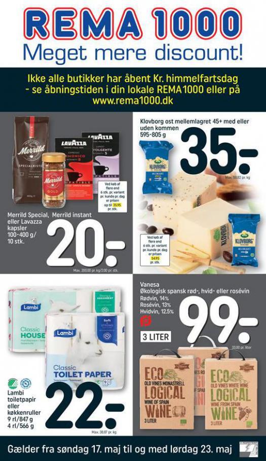 Meget mere discount! . Rema 1000 (2020-05-23-2020-05-23)