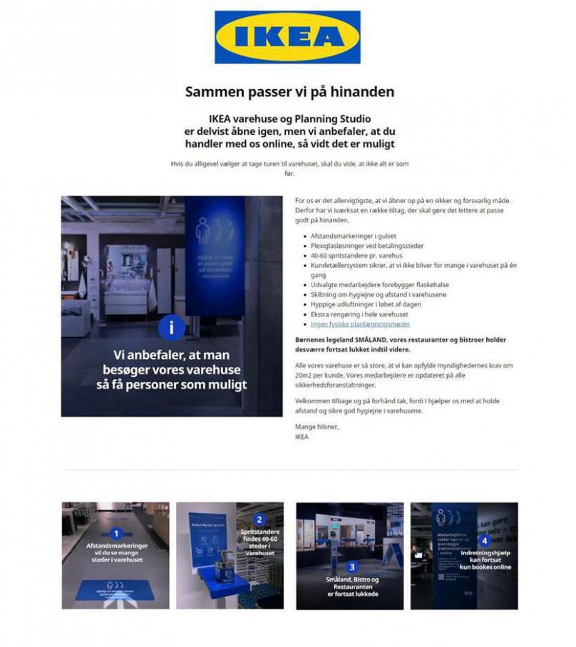 Sammen passer vi på hinanden . IKEA (2020-05-25-2020-05-25)