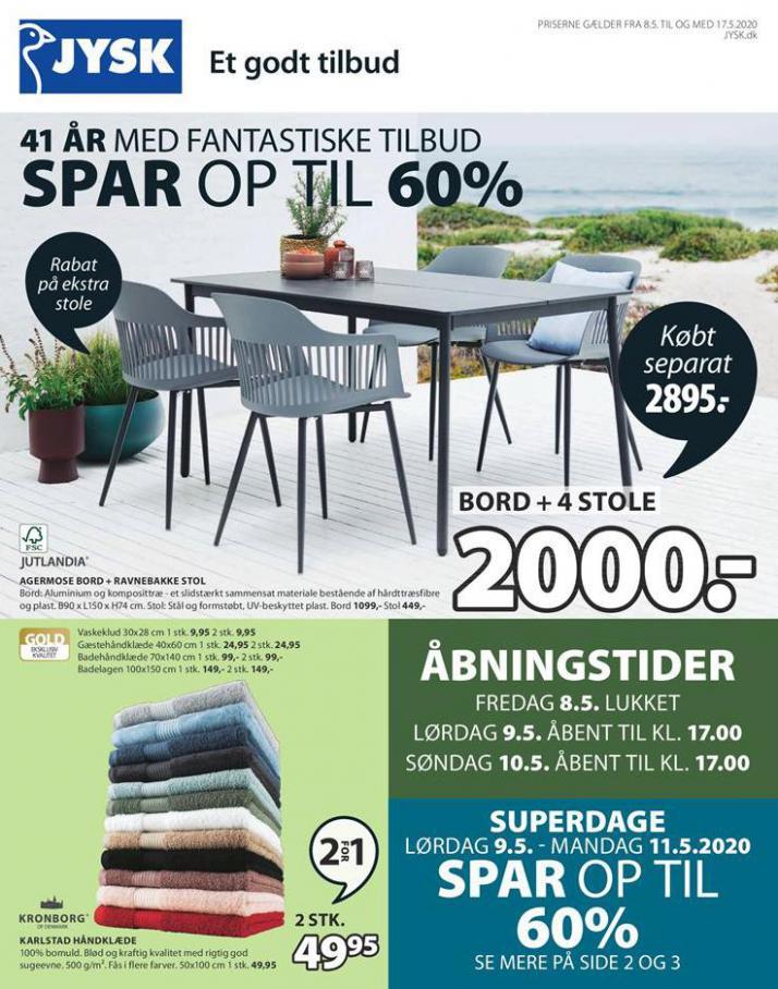 SPAR OP TIL 60% . JYSK (2020-05-17-2020-05-17)