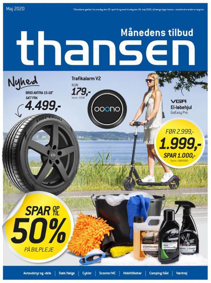 Månedens tilbud . Thansen (2020-05-26-2020-05-26)