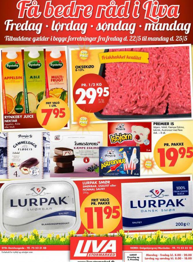 Ugens tilbud! . Liva-Stormarked (2020-05-25-2020-05-25)
