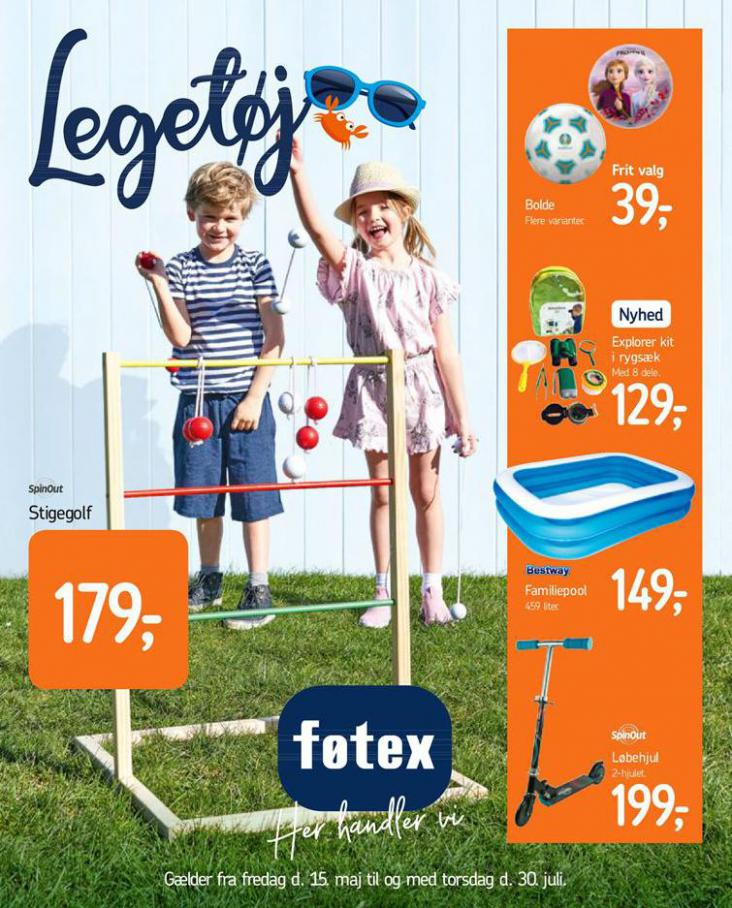 Legetøjskatalog . Føtex (2020-07-30-2020-07-30)