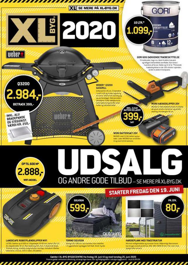 Udsalg . XL-BYG (2020-06-25-2020-06-25)