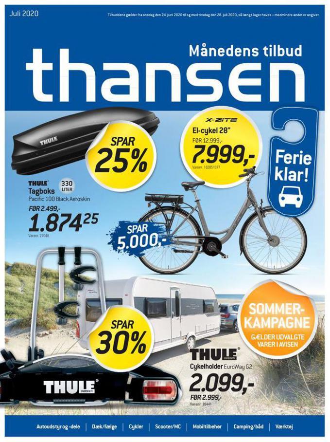Månedens tilbud . Thansen (2020-07-28-2020-07-28)