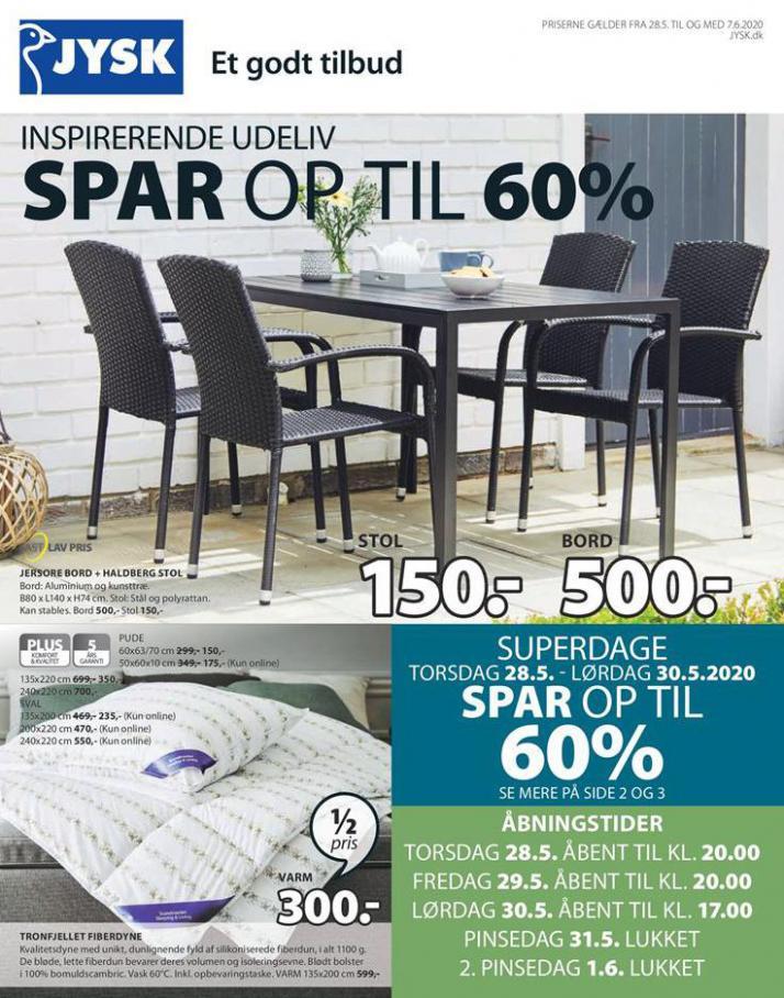 SPAR OP TIL 60% . JYSK (2020-06-07-2020-06-07)