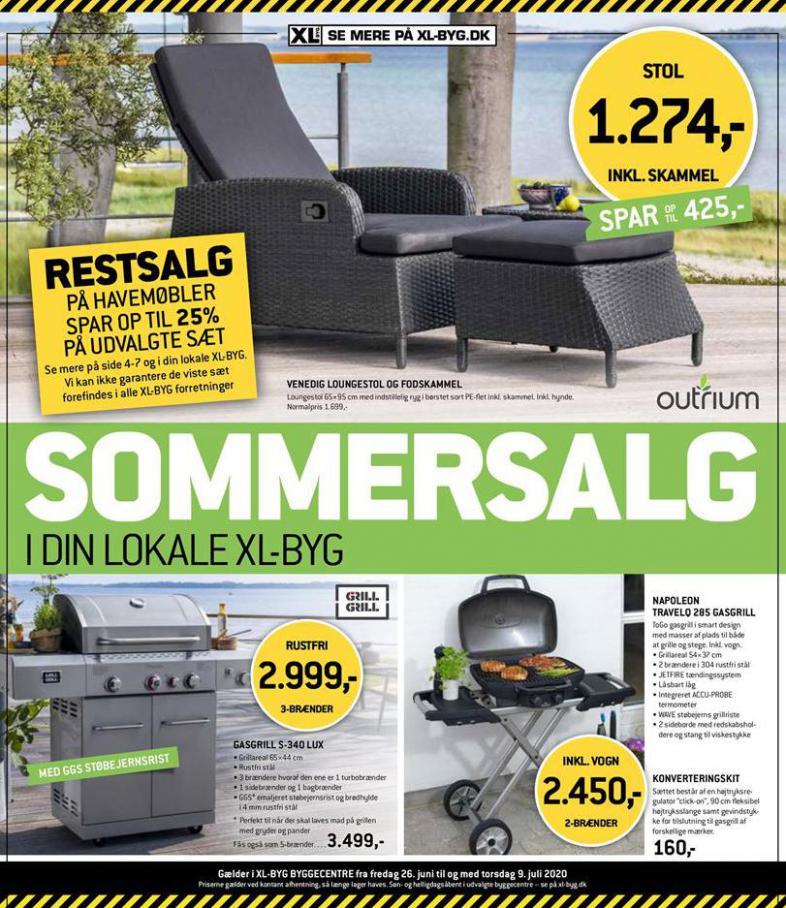 Sommersalg . XL-BYG (2020-07-09-2020-07-09)