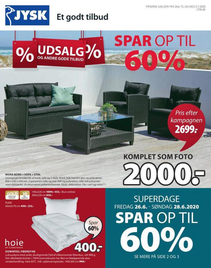 Udsalg . JYSK (2020-07-05-2020-07-05)
