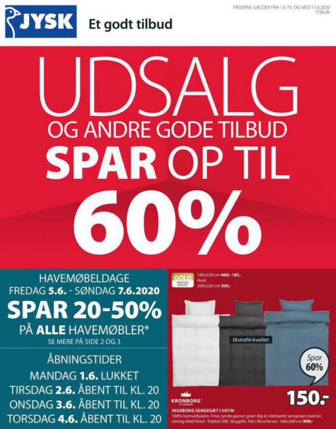Udsalg . JYSK (2020-06-12-2020-06-12)