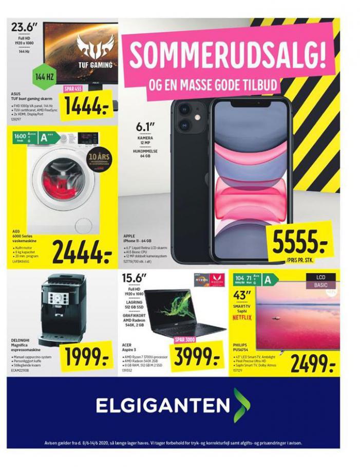 Sommerudsalg! . Elgiganten (2020-06-14-2020-06-14)