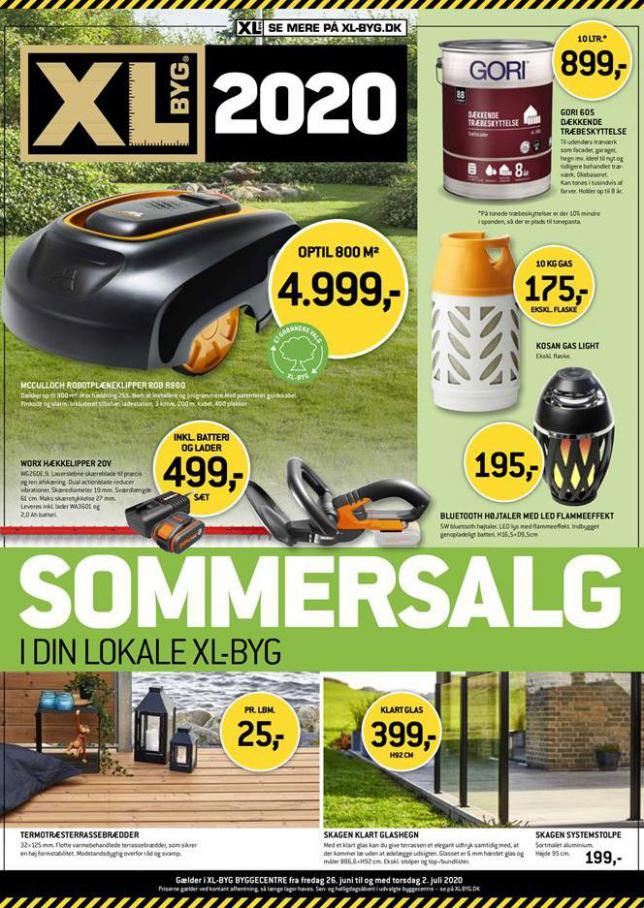 Sommersalg . XL-BYG (2020-07-02-2020-07-02)