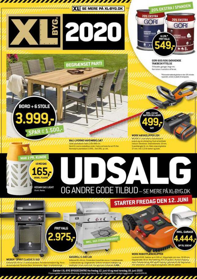 Udsalg . XL-BYG (2020-06-18-2020-06-18)