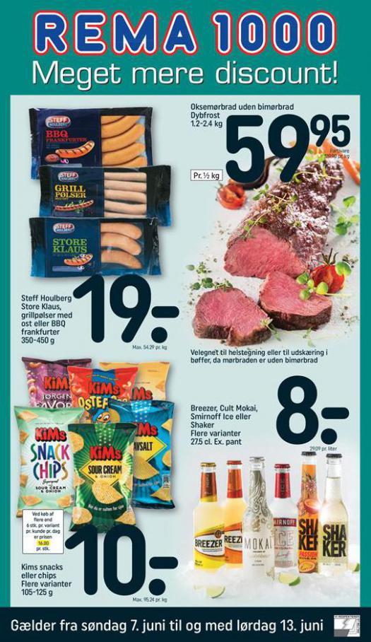 Meget mere discount! . Rema 1000 (2020-06-13-2020-06-13)