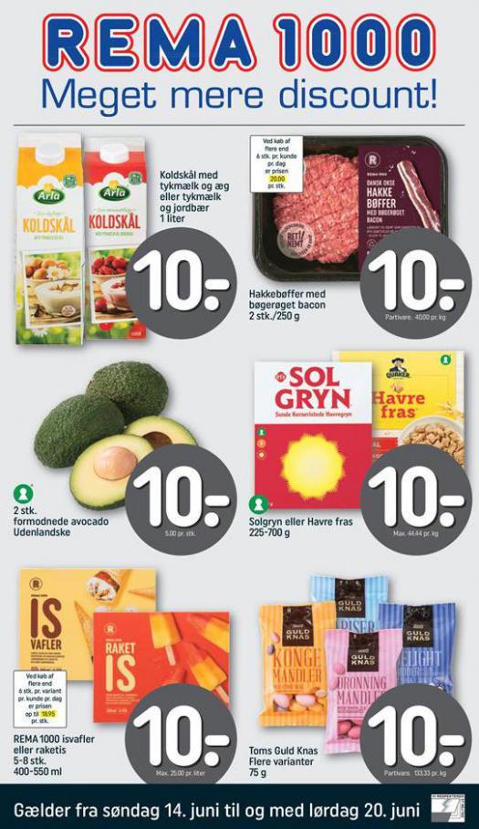 Meget mere discount! . Rema 1000 (2020-06-20-2020-06-20)