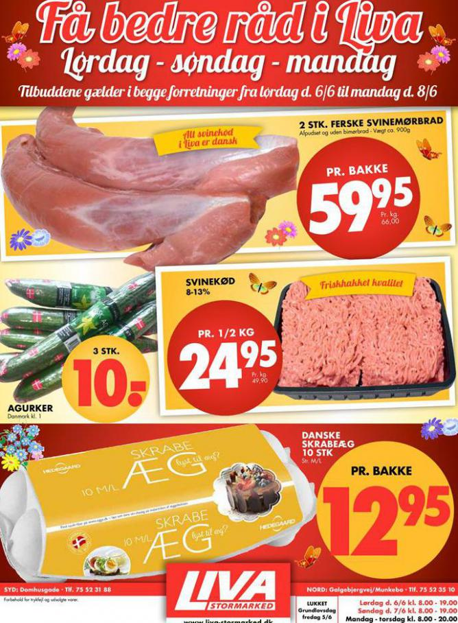 Ugens tilbud! . Liva-Stormarked (2020-06-08-2020-06-08)