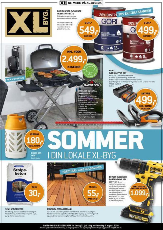 Sommer tilbud . XL-BYG (2020-08-06-2020-08-06)