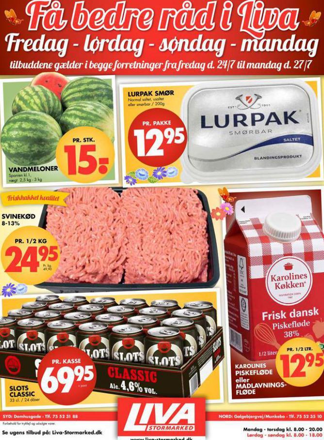 Ugens tilbud! . Liva-Stormarked (2020-07-27-2020-07-27)