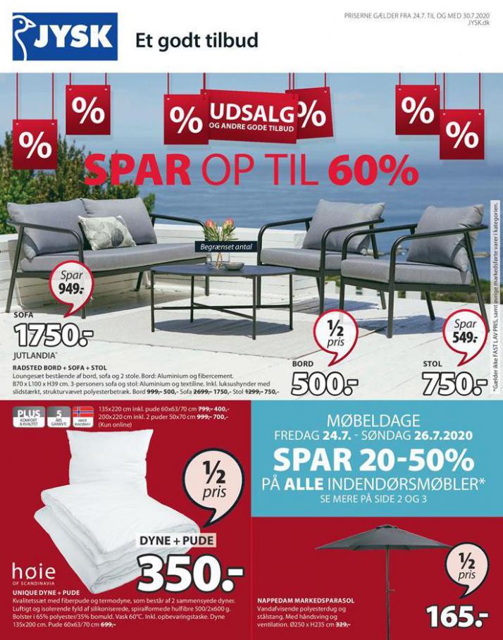 SPAR OP TIL 60% . JYSK (2020-07-30-2020-07-30)
