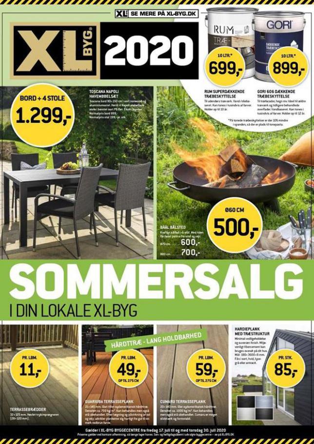 Sommersalg . XL-BYG (2020-07-30-2020-07-30)