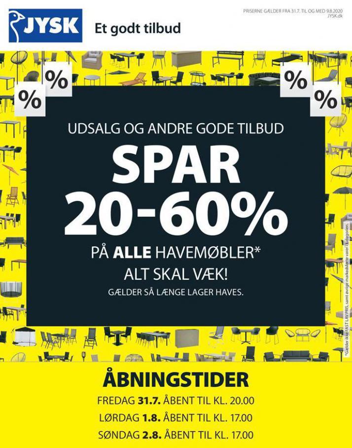 Spar 20-60% . JYSK (2020-08-09-2020-08-09)