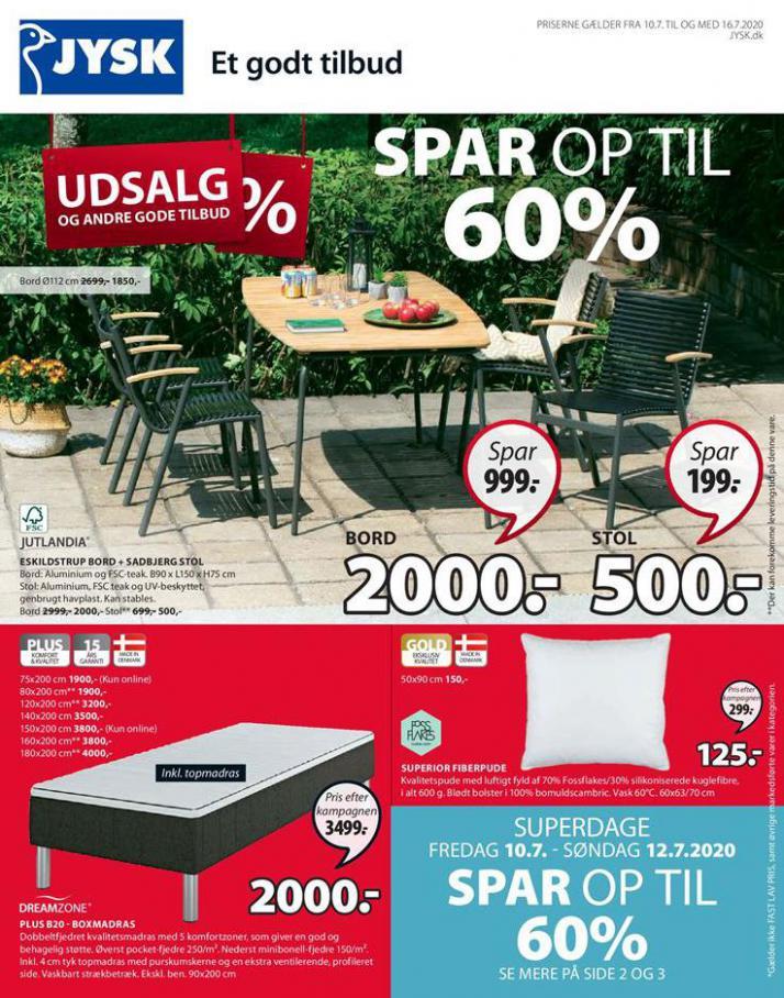 Udsalg . JYSK (2020-07-16-2020-07-16)