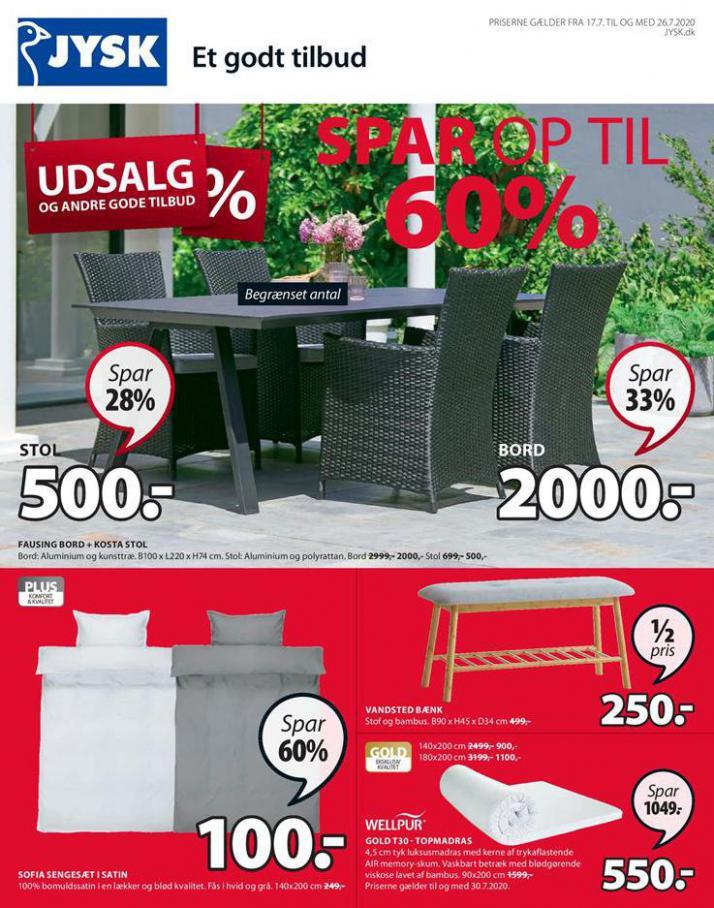 Udsalg! . JYSK (2020-07-26-2020-07-26)