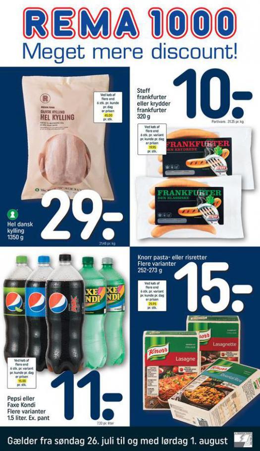 Meger mere Discount! . Rema 1000 (2020-08-01-2020-08-01)