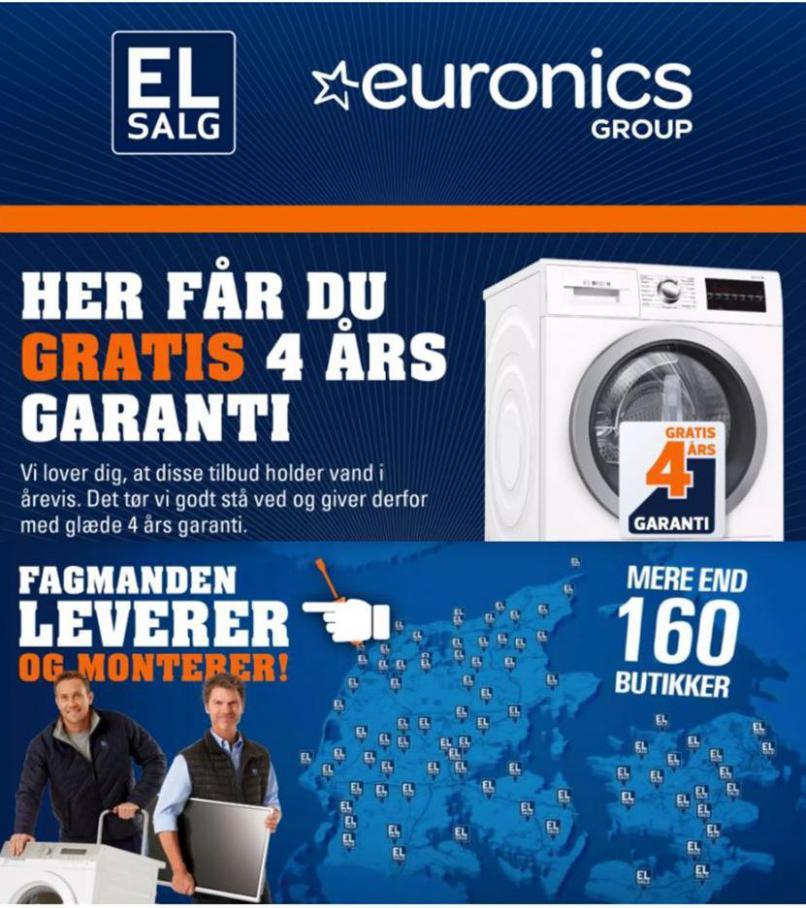 Gratis 4 års garanti . Euronics (2020-10-31-2020-10-31)
