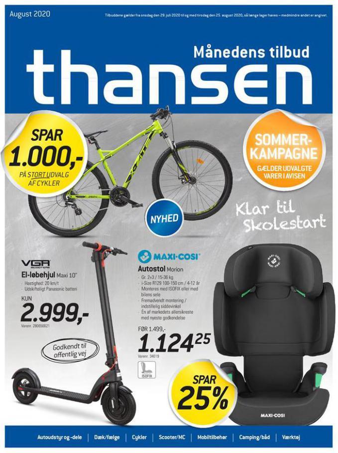 Månedens tilbud . Thansen (2020-08-25-2020-08-25)